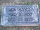 Profile photo:  Ada Mayes