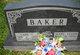 Mary Ellen <I>Schrader</I> Baker