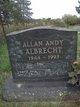 Profile photo:  Allan Andy Albrecht