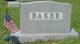 Lillian <I>Van Sickel</I> Baker