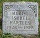 Profile photo:  Muriel Isobel Hartley