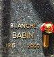 Blanche <I>McConathy</I> Babin