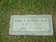 Mary Elizabeth <I>Hangen</I> Agee