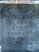 Malinda Adaline <I>Goodin</I> Stout