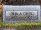 Profile photo:  Julia Ann <I>Brennan</I> Cahill
