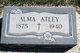 Profile photo:  Alma Estella Elizabeth <I>Buchanan</I> Atley