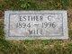Esther C. Benson