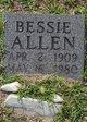Profile photo:  Bessie <I>Grainger</I> Allen