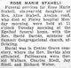 Rose Marie Staheli