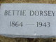 Bettie <I>Jordan</I> Dorsey