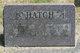 Ruth Gladys <I>Green</I> Hatch