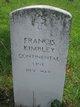 Profile photo:  Francis Kimbley