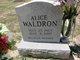 Profile photo:  Alice E Waldron
