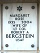 Profile photo:  Margaret Rose <I>Macklin</I> Bergstein