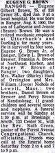 Eugene G. Brown Sr.