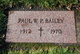 Profile photo:  Paul William Bailey