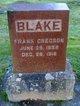 Profile photo:  Frank Gregson Blake