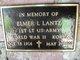 Profile photo: Lieut   Elmer Louis Lantz