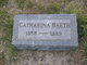 Profile photo:  Catharina <I>Petersen</I> Baeth