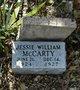 Profile photo:  Jessie William McCarty