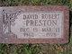 David Robert Preston