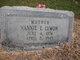 "Profile photo:  Nannie Evaline ""Nannie"" <I>Crockett</I> Lymon"