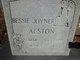 Bessie <I>Joyner</I> Alston