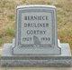 Profile photo:  Berniece <I>Druliner</I> Gorthy