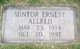 Mintor Ernest Allred