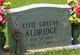 Profile photo:  Effie Lois <I>Greene</I> Aldridge
