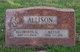 """Elizabeth Jane """"Bessie"""" <I>Brown</I> Allison"""