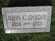 """John C. """"Jack"""" Snyder"""