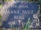Alana Paige Berg