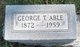 Profile photo:  George T Able