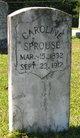 Caroline Sprouse