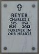 Profile photo:  Charles Edward Beyer