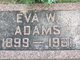 Eva <I>Warren</I> Adams