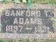 Sanford Thomas Adams