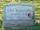 Profile photo:  Alice M. Allender
