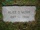 Profile photo:  Alice <I>Shaw</I> Monk