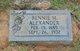 Bennie Melvin Alexander