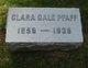 Clara <I>Gale</I> Pfaff
