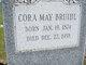 Profile photo:  Cora May <I>Honn</I> Bruihl