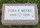 Cora E Meske