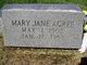 Mary Jane Acree