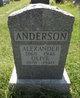 Profile photo:  Alexander Anderson