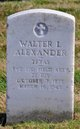 Profile photo:  Walter Luther Alexander, Sr