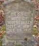 Profile photo:  Bessie Allen