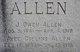 Profile photo:  Avee <I>Collins</I> Allen