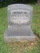 Bessie W. Anderson
